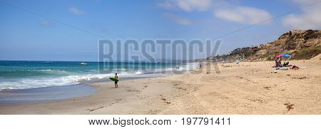 Summer At The San Clemente State Beach