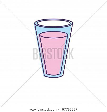 fesh and delicious natural yogurt vector illustration