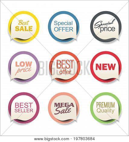 Modern Sale Sticker Collection 2.eps