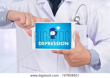 Depression Miserable Depressed , Depression And Its Consequences, Depressed Emotions Concept , Alone