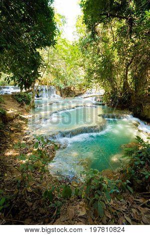 Kuang Si Waterfall Luang Prabang