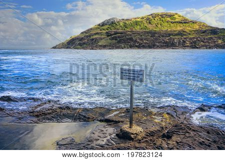The Northern most tip of Australia's rocky headland