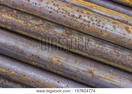 Close Of Rusty Iron Rods 2