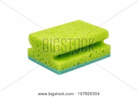 Green Scrubbing Sponge