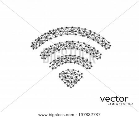 Abstract Vector Illustration Of Wi-fi Sign.