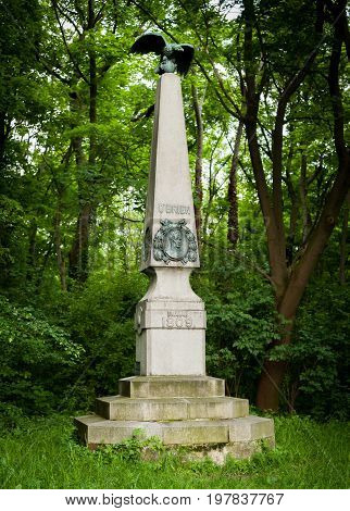Monument of Major O'Brien in Jedlesee (Vienna)