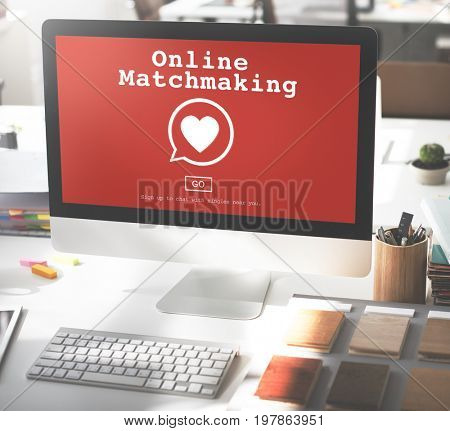 Matchmaking Matchmaker Connection Computer Concept