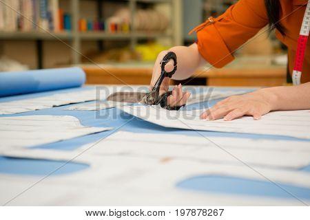 Closeup Photo Of Profession Jobs Female Designer