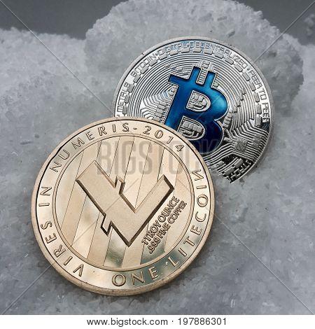 Gold Litecoin And Silver Bitcoin