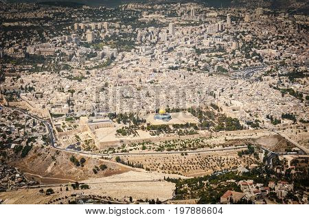 JERUSALEM, ISRAEL. SEPTEMBER 5, 2012: Dome of the Rock (