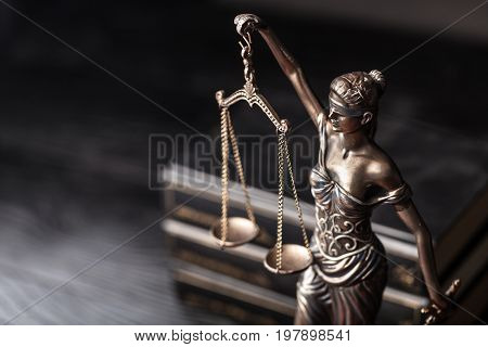 Symbol justice scales of justice criminal law white background isolated