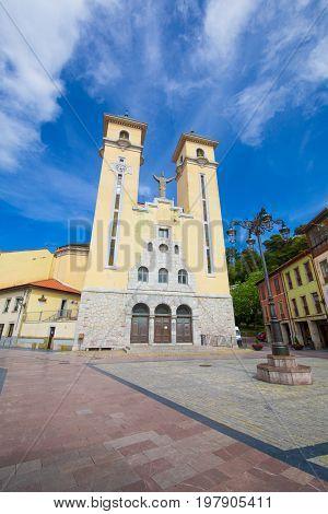 Church Santa Maria Magdalena In Ribadesella