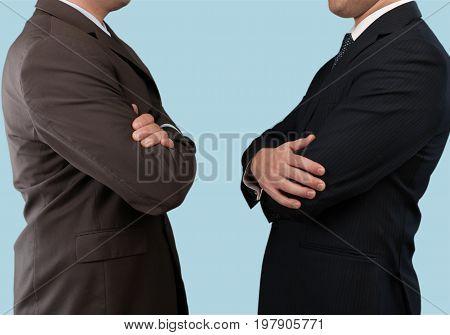 Business dark men businessmen suits business success color