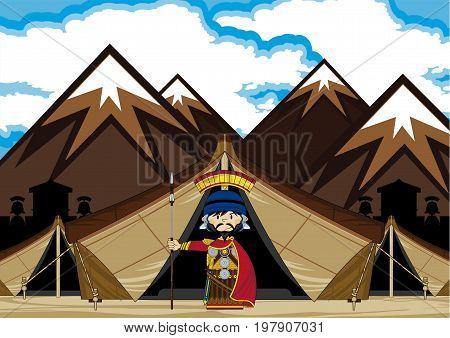 Roman Tent Scene