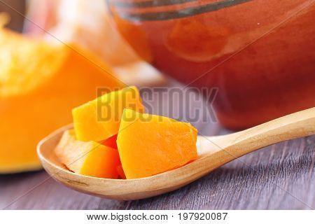 Pumpkin Baked In A Pot
