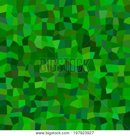 Abstract irregular rectangle mosaic background - polygonal vector design from rectangles in green tones