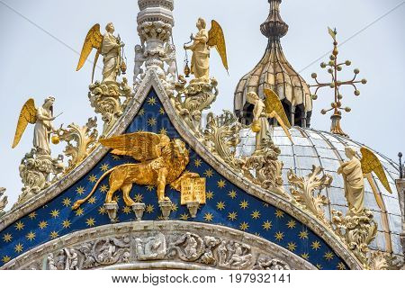 Angels Lion On Top Image Photo Free Trial Bigstock