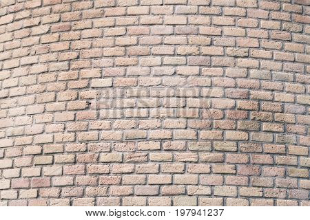 Brick wall useful as a background. Frontal view.