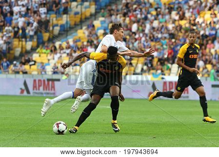 Uefa Champions League: Fc Dynamo Kyiv V Young Boys