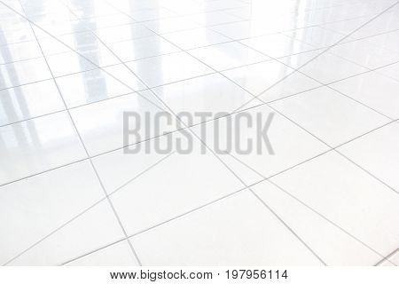 Tiles marble floor background Tiled floor with suitable for home design and home decoration.