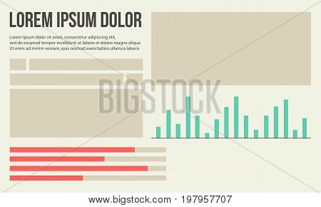 Collection stock business infographic graphic design illustration