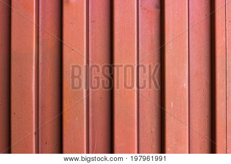 Painted Metal Container Wal