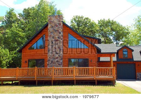 home log cabin