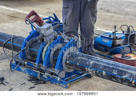 Pipe Welding Machine For Connecting Water Pipe 3