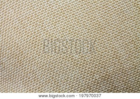 Background of brown fabric of polyester with a texture