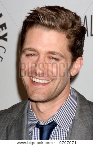 LOS ANGELES - MAR 16:  Matthew Morrison arriving at the