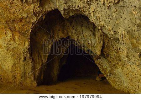A Hole In Phraya Nakhon Cave. Thailand