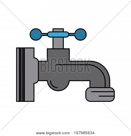 water faucet icon image vector illustration design