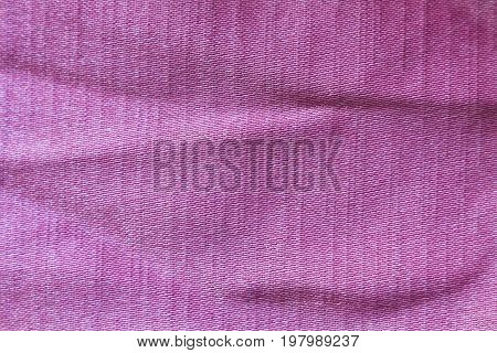 Background of pink fabric of polyester with a texture