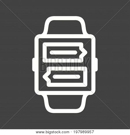 Call, app, voice icon vector image. Can also be used for Smart Watch. Suitable for mobile apps, web apps and print media.