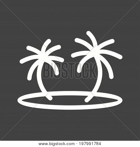 Pirate, island, sea icon vector image. Can also be used for Pirate. Suitable for use on web apps, mobile apps and print media.