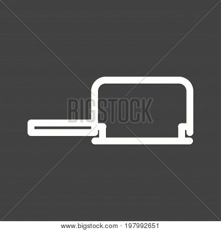Saw, coping, hand icon vector image. Can also be used for Hand Tools. Suitable for use on web apps, mobile apps and print media
