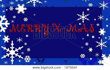 Merry Xmas Blue