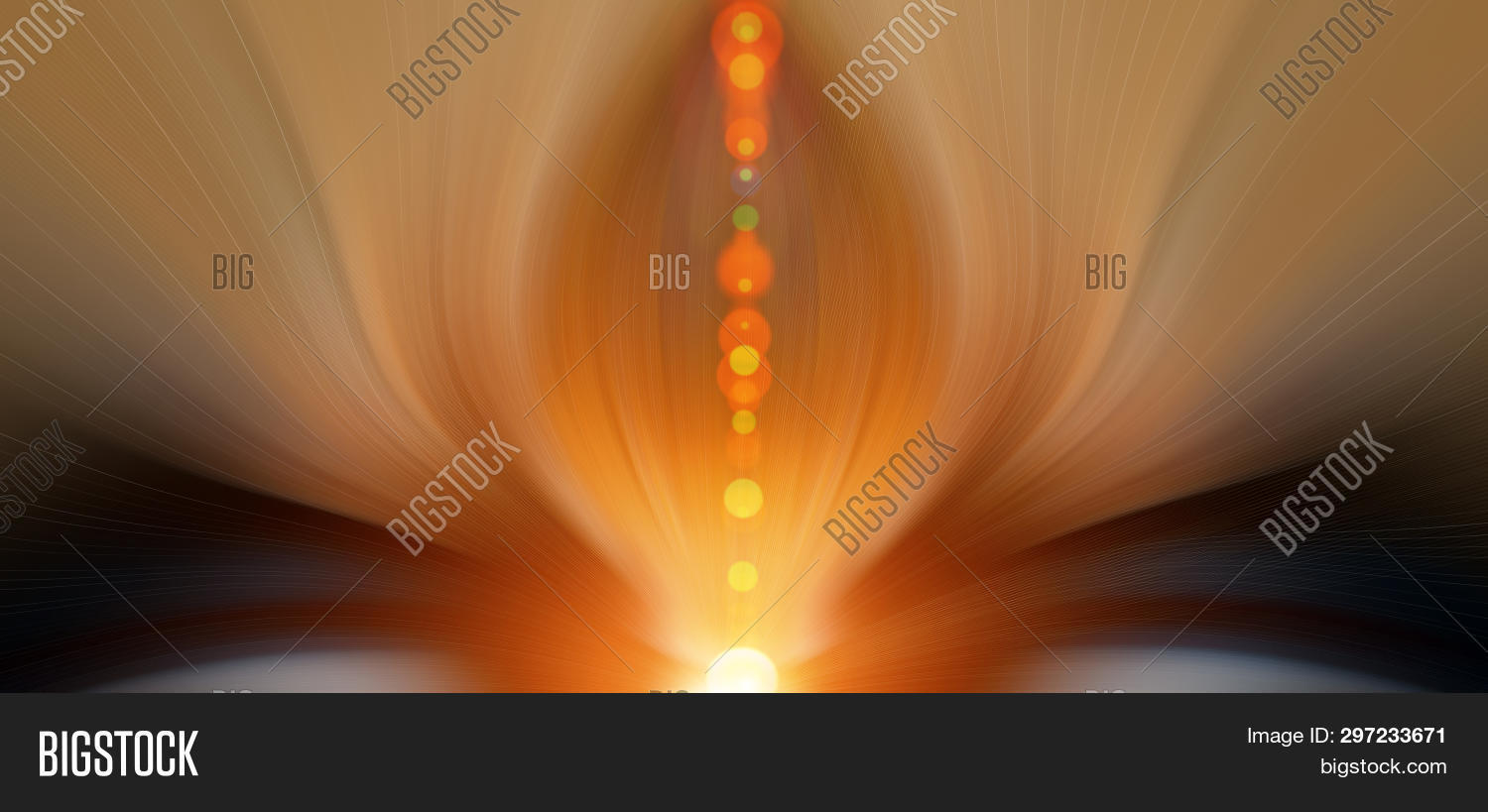 Abstract Energy Flower Image Photo Free Trial Bigstock