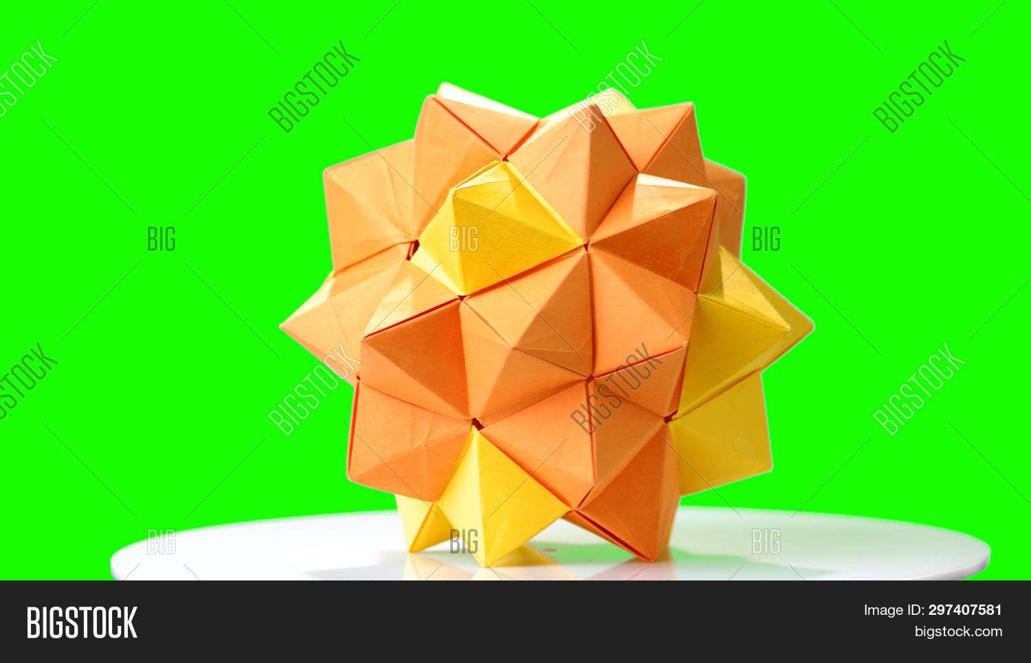 Origami Omega Star for Decoration | Online Store | 964x1500