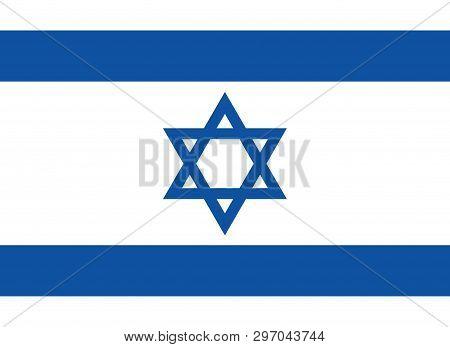 Vector Israel Flag, Israel Flag Illustration, Israel Flag Picture, Israel Flag Image,