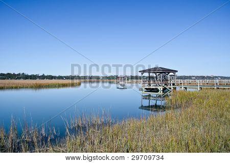 Marshlands of Pawley's Island, South Carolina