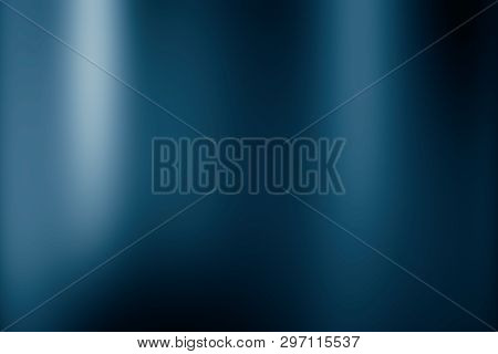 Blue Background Or Black Background Of Gradient Smooth Background Texture On Elegant Rich Luxury Bac