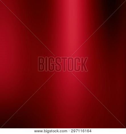 Abstract Pink Background Luxury Christmas Holiday Wedding Background Red Frame Bright Spotlight Smoo