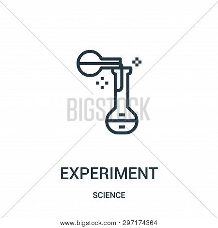 Experiment Icon Isolated On White Background From Science Collection. Experiment Icon Trendy And Mod