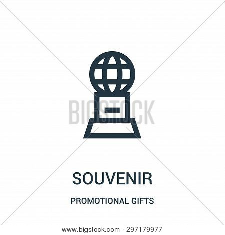 Souvenir Icon Isolated On White Background From Promotional Gifts Collection. Souvenir Icon Trendy A