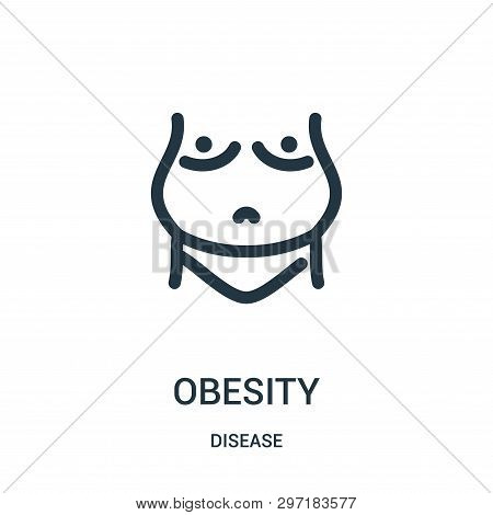 Obesity Icon Isolated Vector Photo Free Trial Bigstock