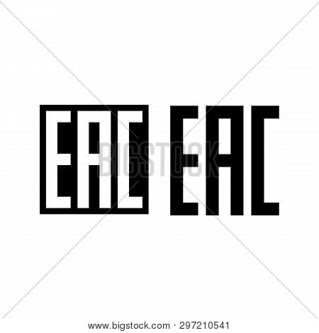 Eurasian Conformity, Eac Is A Certification Mark To Indicate That The Products Conform To All Techni
