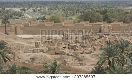 Excavations In Ancient City Of Babylon, Iraq