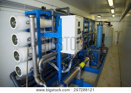 Heavy Duty Industrial Reverse Osmosis Water Filter