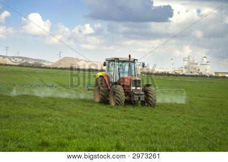 Tractor Working